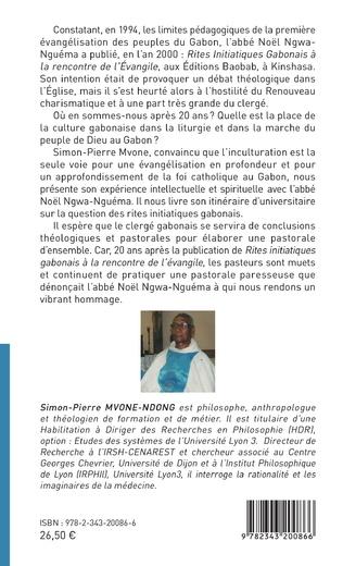 4eme Rites initiatiques gabonais à la rencontre de l'Evangile
