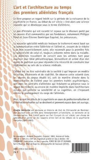 4eme L'art et l'architecture au temps des premiers aliénistes français