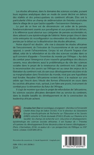 4eme Pour une désaliénation des études africaines