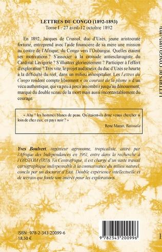 4eme Lettres du Congo Tome 1 (1892-1893)