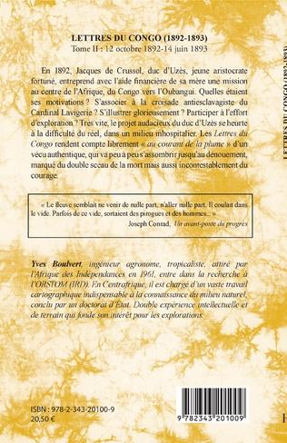 4eme Lettres du Congo Tome 2 (1892-1893)