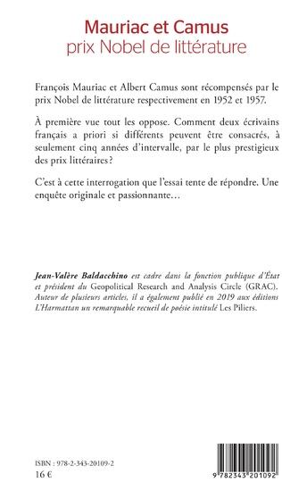 4eme Mauriac et Camus