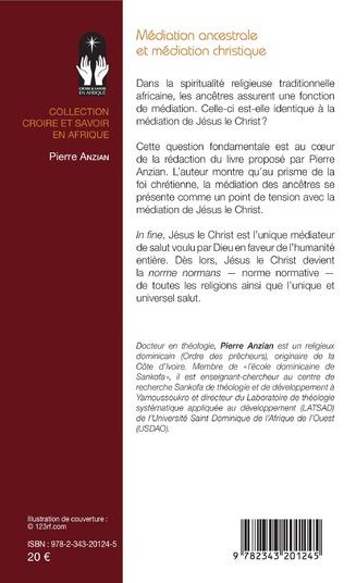 4eme Médiation ancestrale et médiation christique