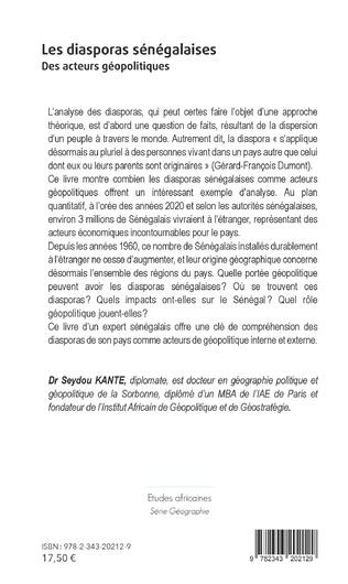 4eme Les diasporas sénégalaises