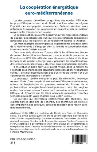 4eme La coopération énergétique euro-méditerranéenne