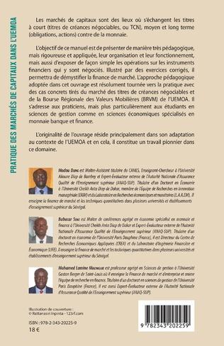 4eme Pratique des marchés de capitaux dans l'UEMOA