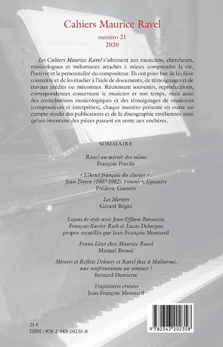 4eme Cahiers Maurice Ravel