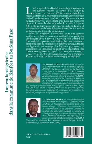 4eme Innovations agricoles dans la commune de Banfora au Burkina Faso