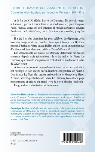 4eme Pierre Le Damany, un grand médecin breton