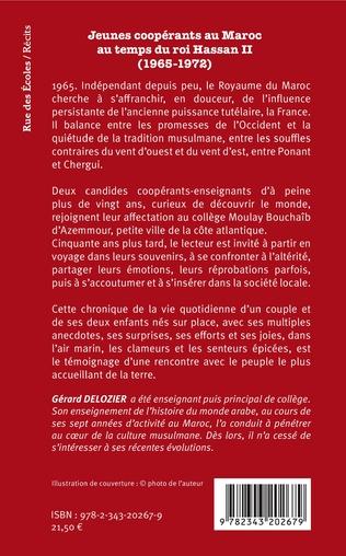 4eme Jeunes coopérants au Maroc au temps du roi Hassan II