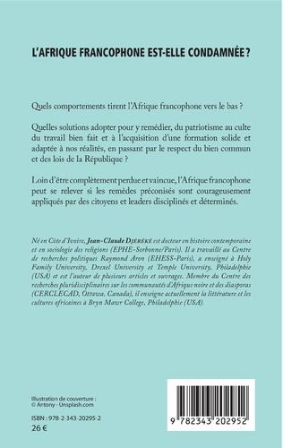 4eme L'Afrique francophone est-elle condamnée ?