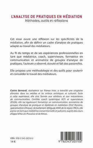4eme L'analyse de pratiques en médiation