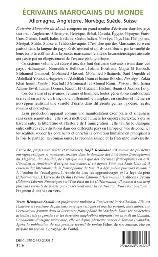 4eme Ecivains marocains du monde