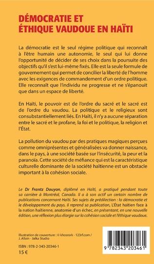 4eme Démocratie et éthique vaudoue en Haïti