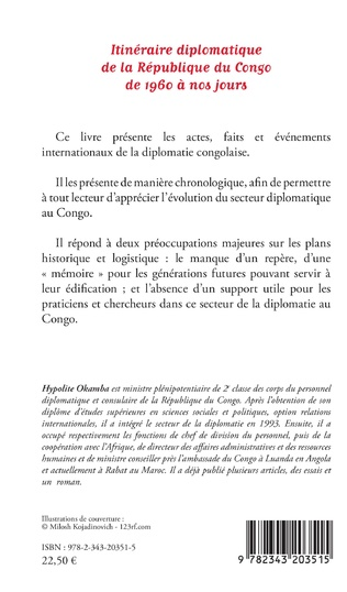 4eme Itinéraire diplomatique de la République du Congo de 1960 à nos jours