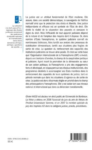4eme Francophonie et justice