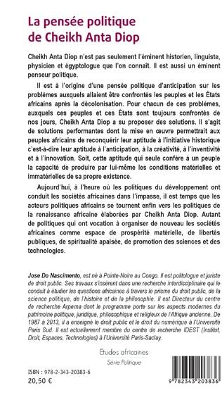 4eme La pensée politique de Cheikh Anta Diop