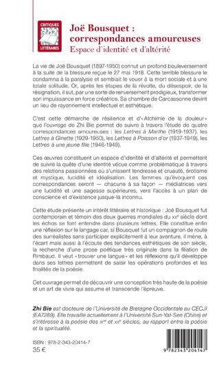 4eme Joë Bousquet :
