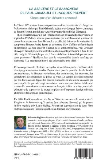 4eme La bergère et le ramoneur de Paul Grimault et Jacques Prévert