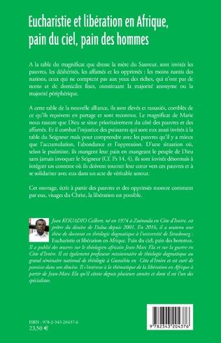 4eme Eucharistie et libération en Afrique, pain du ciel, pain des hommes