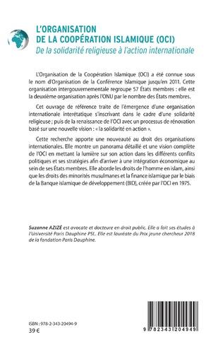 4eme L'Organisation de la Coopération Islamique (OCI)