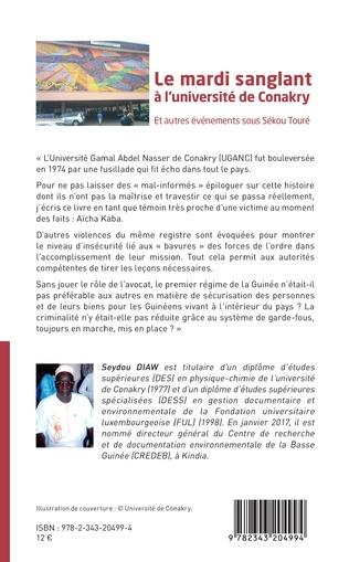 4eme Le mardi sanglant à l'université de Conakry