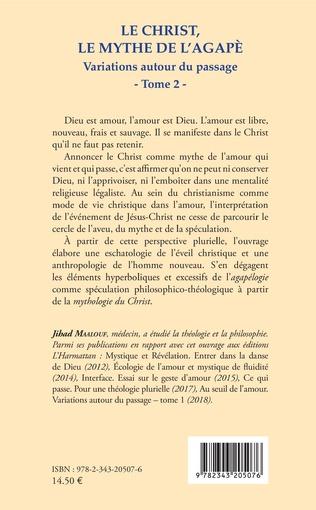 4eme Le Christ, le mythe de l'agapè