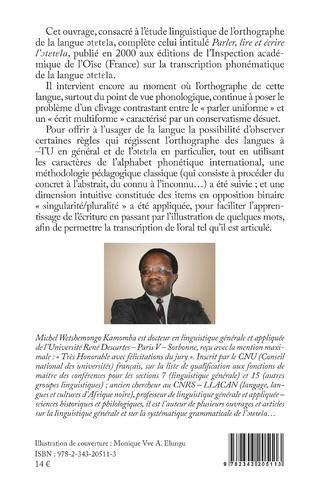 4eme Parler, lire et écrire la langue bantoue otetela