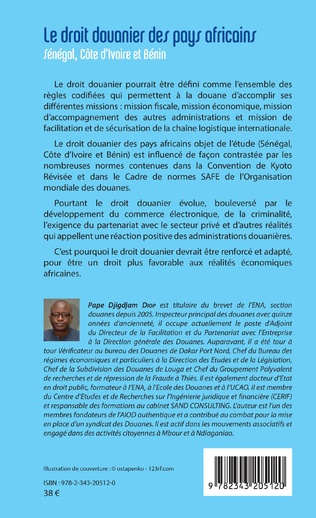 4eme Le droit douanier des pays africains