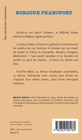 4eme Bonjour Francfort