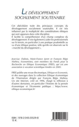 4eme Le développement socialement soutenable