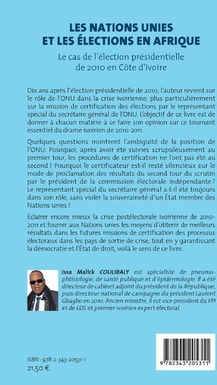 4eme Les Nations Unies et les élections en Afrique