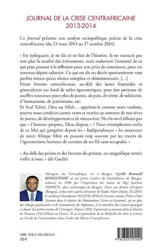 4eme Journal de la crise centrafricaine 2013-2014
