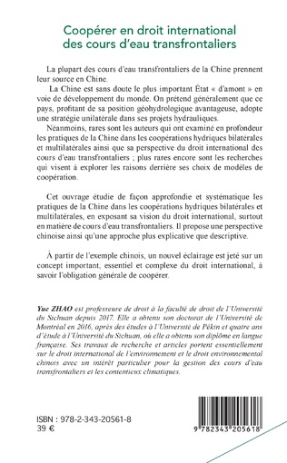4eme Coopérer en droit international des cours d'eau transfrontaliers