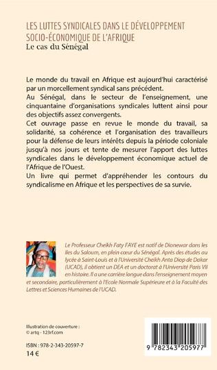 4eme Les luttes syndicales dans le développement socio-économique de l'Afrique