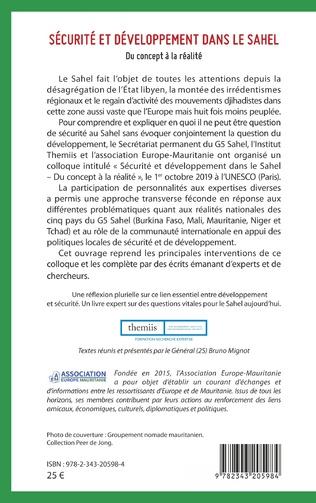 4eme Sécurité et développement dans le Sahel