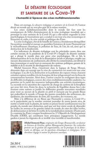 4eme Le désastre écologique et sanitaire de la COVID-19