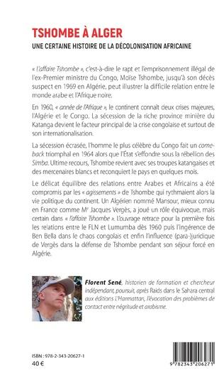 4eme Tshombe à Alger