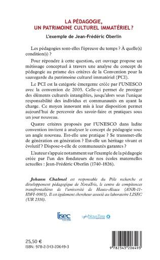 4eme La pédagogie, un patrimoine culturel immatériel ?