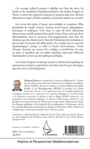 4eme Études d'impact et politiques publiques au Maroc