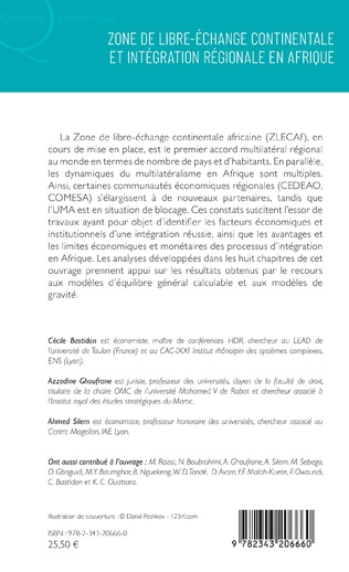 4eme Zone de libre-échange continentale et intégration régionale en Afrique