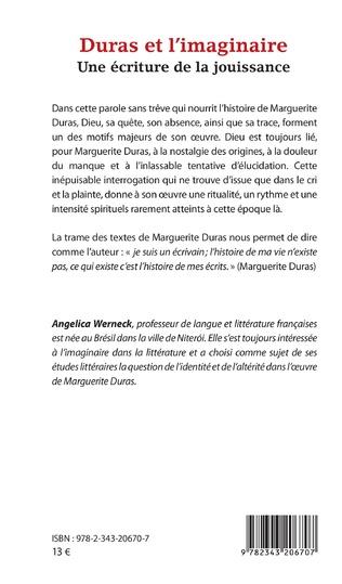 4eme Duras et l'imaginaire