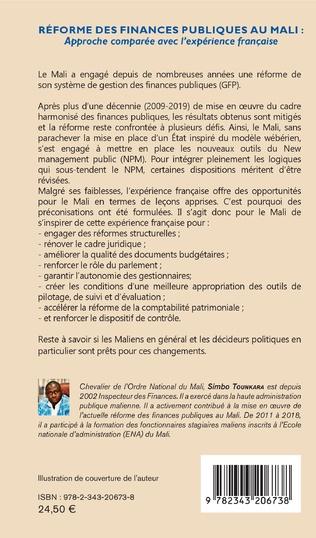 4eme Réforme des finances publiques au Mali : approche comparée avec l'expérience française