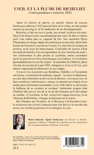 4eme L'oeil et la plume de Richelieu