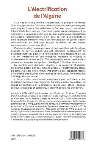 4eme L'électrification de l'Algérie