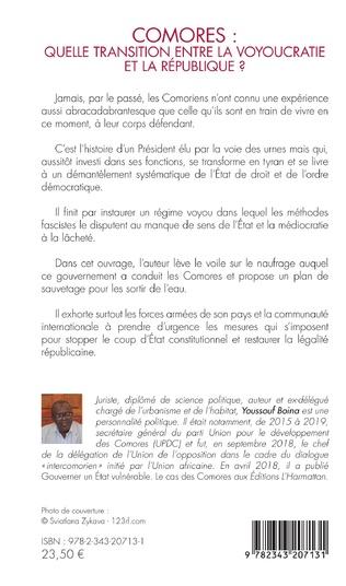 4eme Comores : quelle transition entre la voyoucratie et la république ?