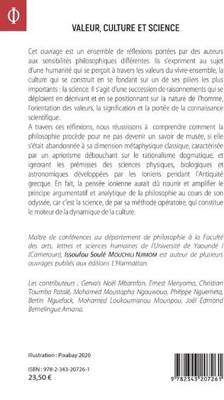 4eme Valeur, culture et science