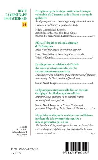 4eme Revue Camerounaise de psychologie 1