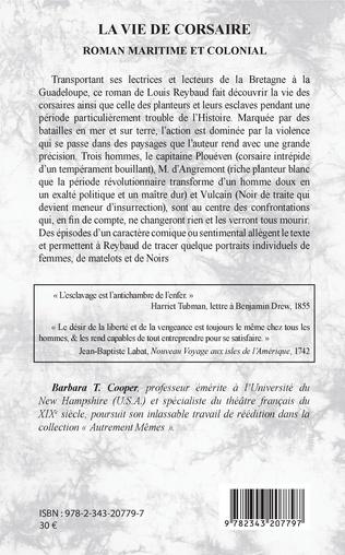 4eme La vie de corsaire