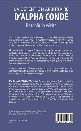 4eme La détention arbitraire d'Alpha Condé